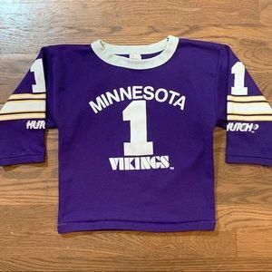 Vintage Minnesota Vikings Kids Jersey Shirt S